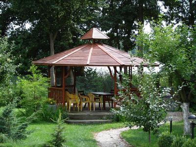pavillon holz garten ao35 hitoiro. Black Bedroom Furniture Sets. Home Design Ideas