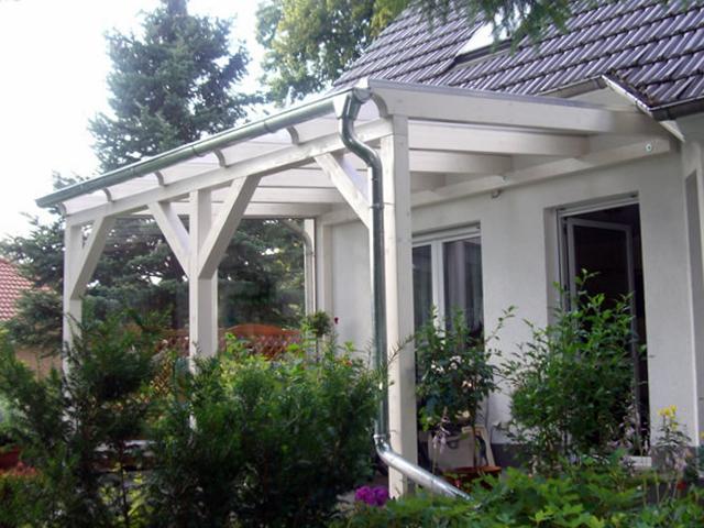 Terrassenüberdachung aus Holz, Glas, Leimholz & Alu bauen - Novum ...