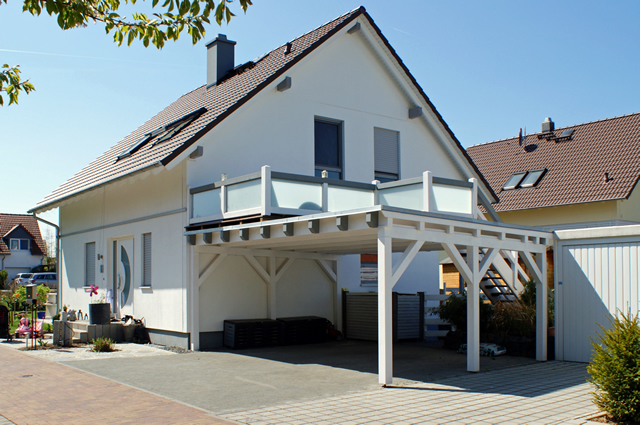 Emejing carport mit dachterrasse pictures thehammondreport
